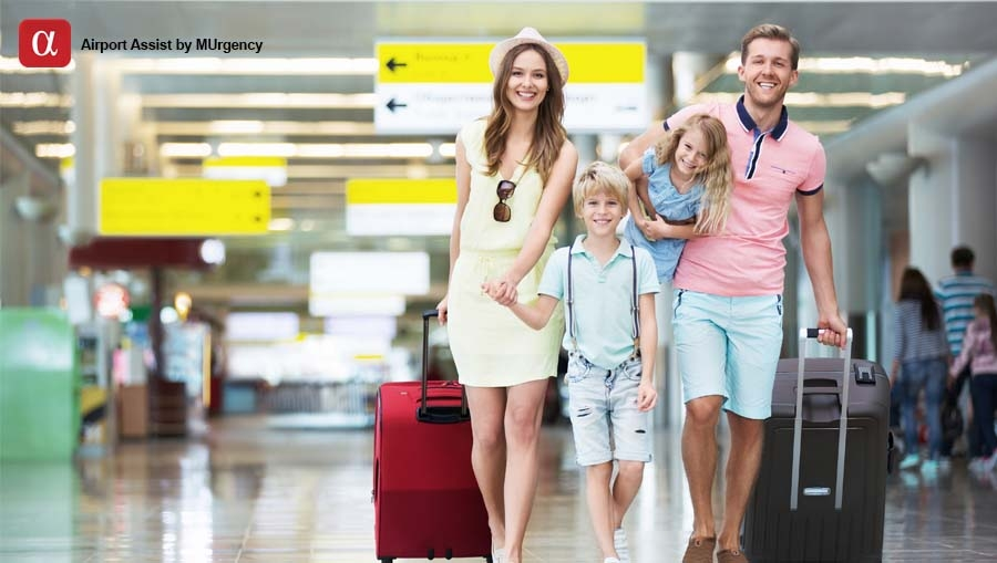 summer vacation, airport assist, airport assistance, family, summer, fast track, meet & assist, assistant, lounge access,