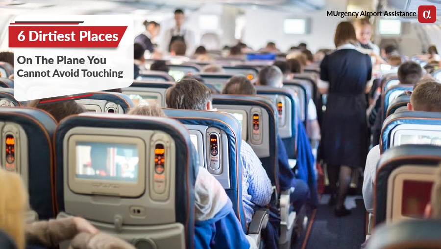 germs of plane, dirty flight, germs on flight, flight tips, plane tips, air travel tips,