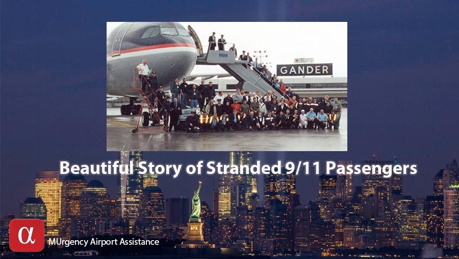 9/11 stories, delta flight, gander, inspirational story,