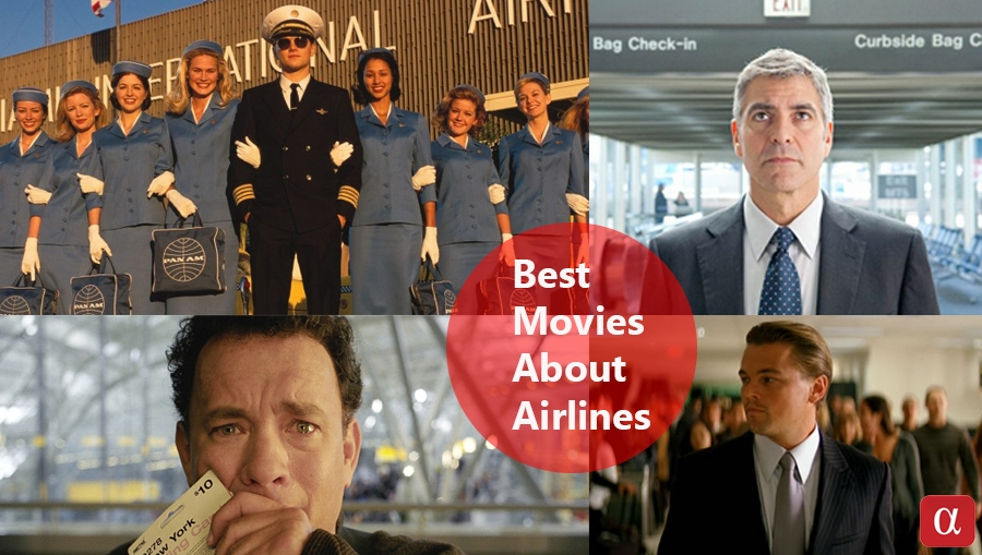 airport movies, airport, airport based movies, catch me if you can, the terminal, inceptions, the civil war, up in the air